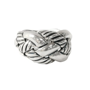 David Yurman Sterling Silver Woven Knot Ring