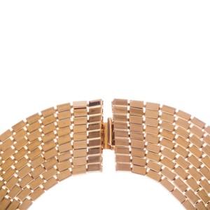 Runway Multi Strand Chain Bib Necklace