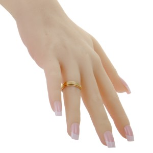 Piaget 18K Rose Gold Band Ring Size 7.25