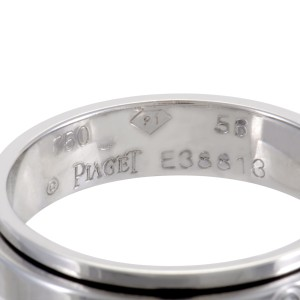 Piaget 18K White Gold & Diamond Band Ring