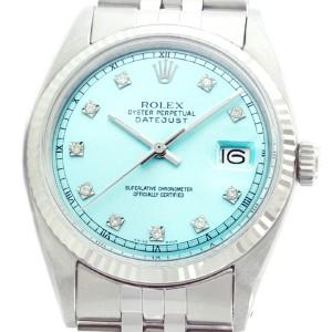 Rolex Datejust 1601 36mm 18K White Gold Stainless Steel Watch
