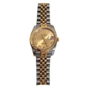 Rolex Datejust 116233CRJ 36mm Two-Tone Mens Watch