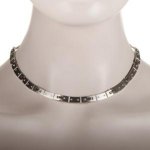 Tiffany & Co. 18K White Gold Diamond Collar Necklace