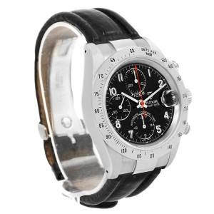 Tudor Tiger Woods Prince 79280 Stainless Steel Black Dial 40mm Mens Watch
