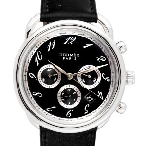 Hermes Arceau AR4.910 Stainless Steel Mens Watch