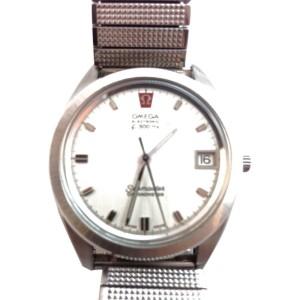 Vintage Omega Mega Quartz Seamaster Chronometer 37mm Watch