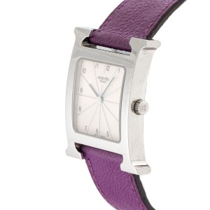 Hermes H Hour HH1.510 Stainless Steel 30.5mm Unisex Watch