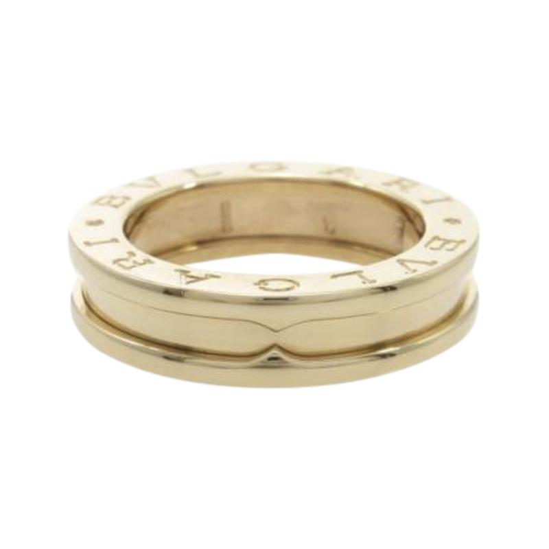 "Image of ""Bulgari 18K Pink Gold B.zero1 1 Band Ring Size 4"""