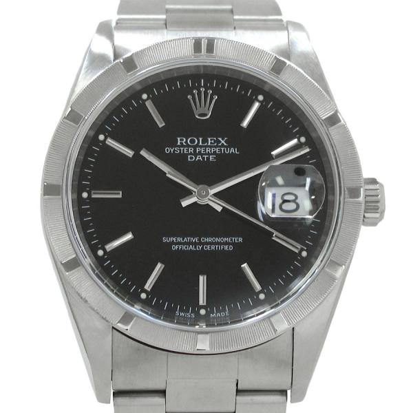 """Image of """"Rolex Oyester Perpetual 15210 Stainless Steel Automatic 35mm Mens"""""""