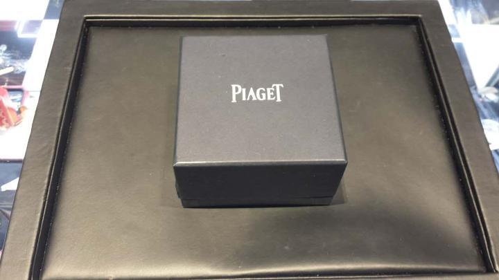 """Image of """"Piaget 18K Yellow Gold Diamond Ring Size 8.25"""""""