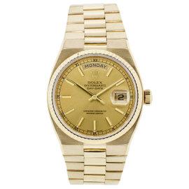 Rolex Day Date 19018 18K Yellow Gold 36mm Unisex Watch