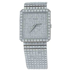 Piaget Classique 18K White Gold & Diamond 29mm Watch