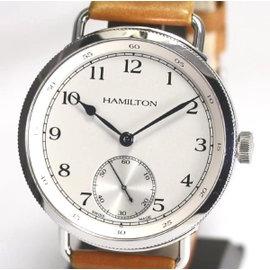 Hamilton Khaki Stainless Steel Hand-Winding 46.5mm Mens Watch