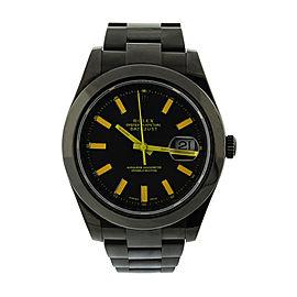 Rolex Datejust II 116300 Stainless Steel PVD 41mm Watch