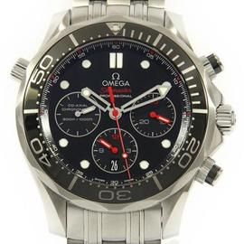 Omega Seamaster Stainless Steel 44mm Mens Watch