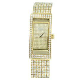 Piaget Classique 18K Yellow Gold with Diamonds Womens Watch