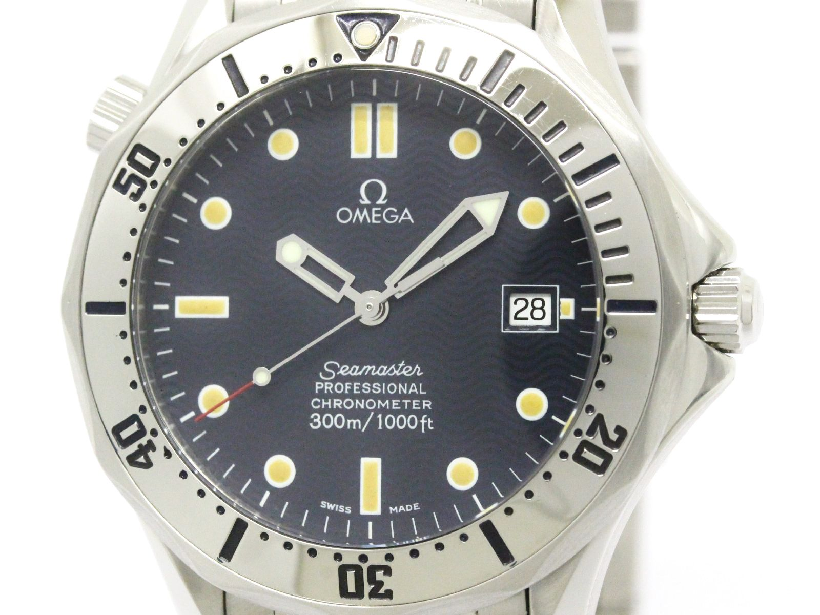 """Image of """"Omega Seamaster 2532.80 Stainless Steel 41mm Mens Watch"""""""