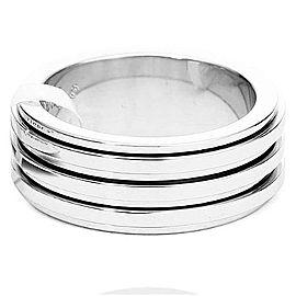 Piaget G34P04 18K White Gold Ring Size 5.25