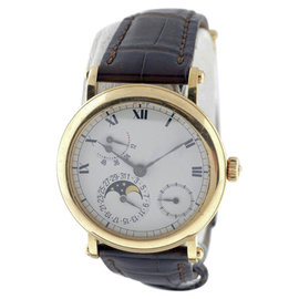 Patek Philippe Complications 5054J 18K Yellow Gold Mens Watch