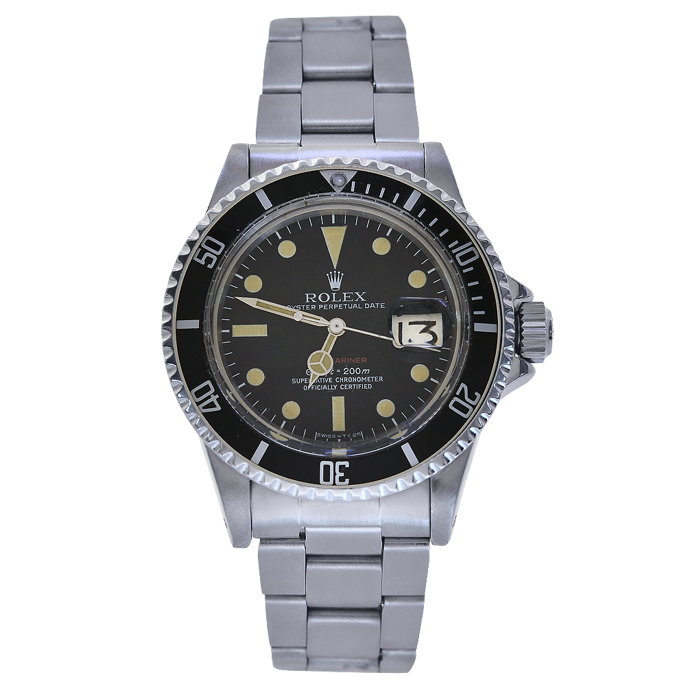 "Image of ""Rolex Submariner Date 1680 Stainless Steel Black Dial Automatic 40mm"""