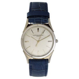 Vacheron Constantin Classique 18k White Gold Vintage Mens 32mm Watch