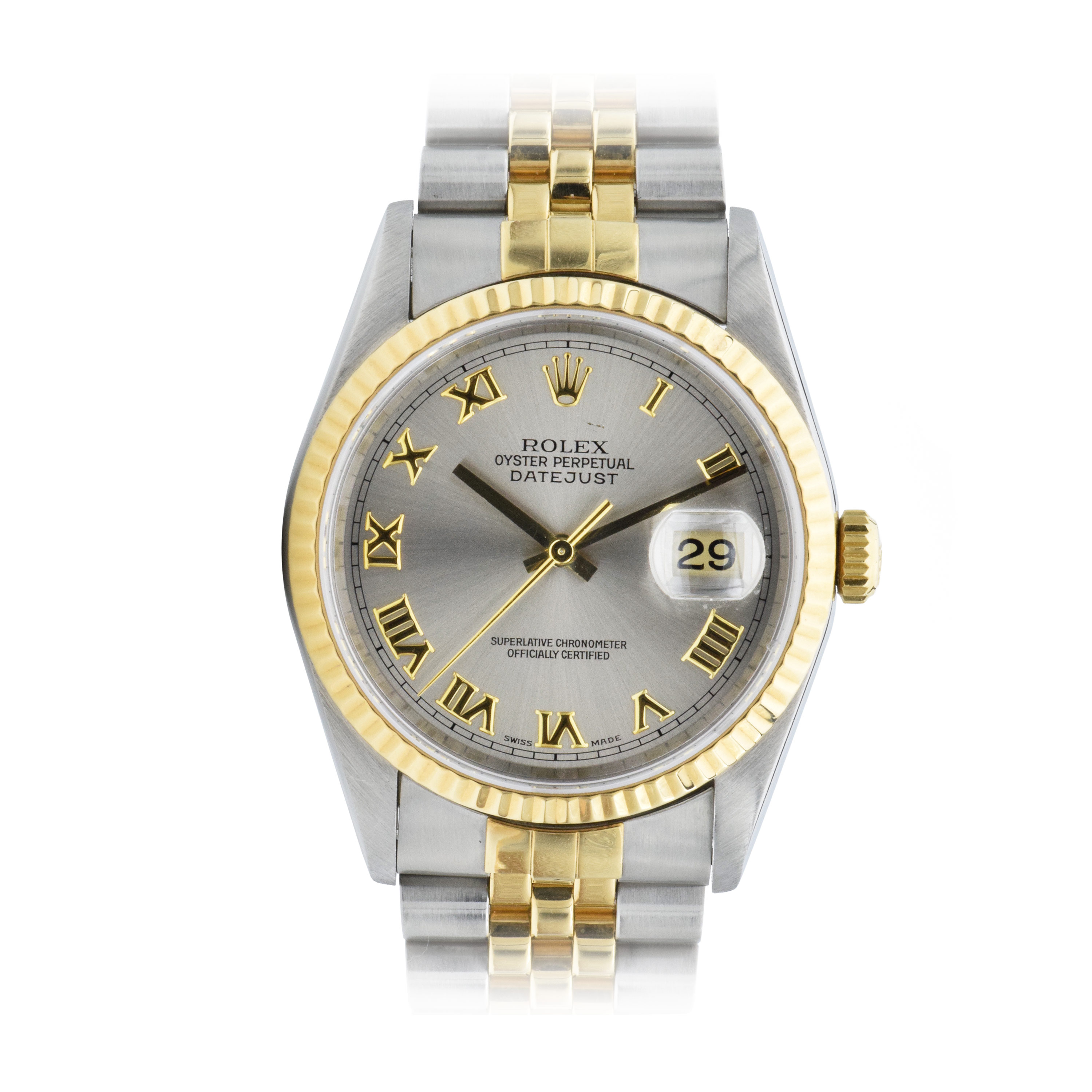 """Image of """"Rolex Datejust 16233 Stainless Steel and 18K Yellow Gold Automatic"""""""
