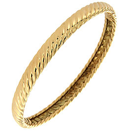 David Yurman 18K Yellow Gold Cable Bracelet