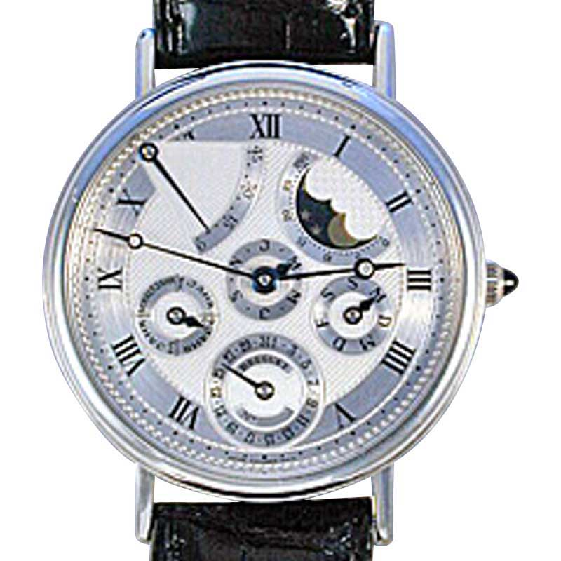 "Image of ""Breguet Perpetual Calendar Power Reserve Platinum 39mm Strap Watch"""