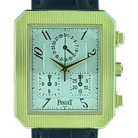 Piaget Protocale Chronograph 18K Yellow Gold Watch