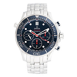 Omega Seamaster 300 212.30.44.50.03.001 Diver Blue Dial Stainless Steel 44.5 Mens Watch
