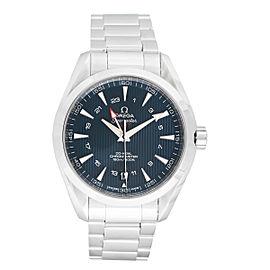 Omega Aqua Terra 231.10.43.22.03.001 Blue Dial Stainless Steel 43 mm Mens Watch