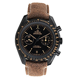 Omega Speedmaster Moonwatch 311.92.44.51.01.006 Co-Axial Black Dial Chronograph Automatic Mens Watch