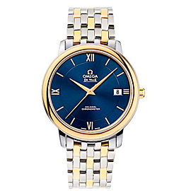 Omega De Ville Prestige 424.20.37.20.03.001 Blue Dial 36.8mm Mens Watch