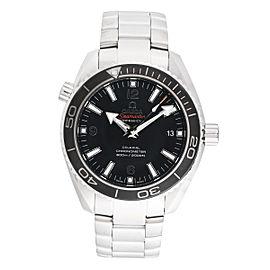 Omega Seamaster Planet Ocean 232.30.42.21.01.001 Black Dial 42mm Mens Watch