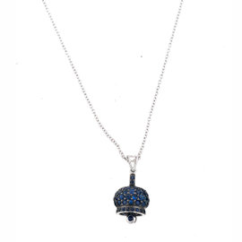 ZYDO 1.01ct. Sapphire Necklace
