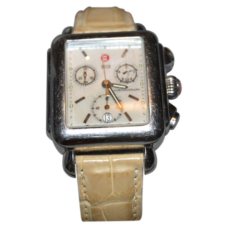 "Image of ""Michel Deco 18mm Stainless Steel Watch"""