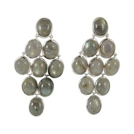 Ippolita Sterling Silver Labradorite Cascade Earrings
