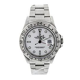 Rolex Explorer II White Dial 40 mm Watch