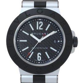 Bulgari AL44TA Aluminum Automatic 44mm Mens Watch