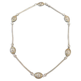 John Hardy 18K Yellow Gold & Sterling Silver Necklace