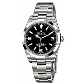 Rolex Explorer 214270 Stainless Steel & Black Dial 39mm Unisex Watch