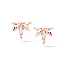 Five Point Starburst Diamond Studs