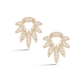 Cutout Marquise Diamond Studs