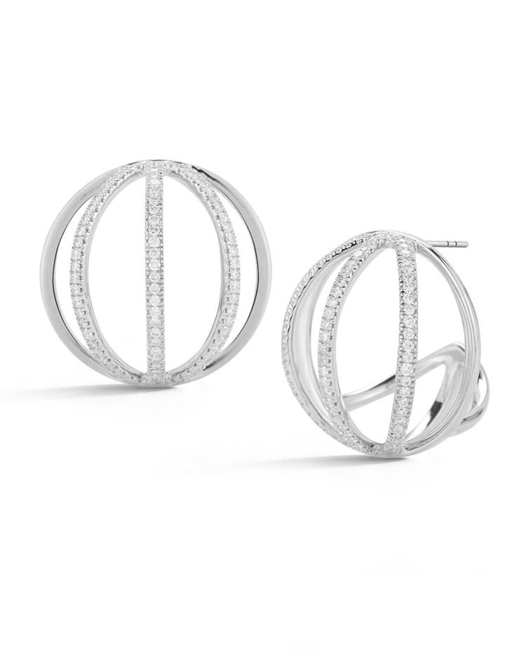 "Image of ""Cutout Globe Earrings"""