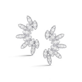 Diamond Marquise Ear Crawlers