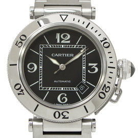 Cartier Pasha Stainless Steel Automatic 40mm Mens Watch