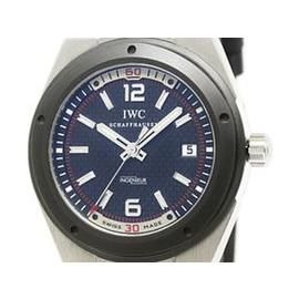 IWC Ingenieur IW323401 Stainless Steel & Leather Automatic 44mm Mens Watch