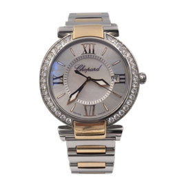 Chopard Imperiale 388532-6004 Stainless Steel 18K Rose Gold 36mm Womens Watch