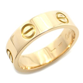 Cartier Love 18K Yellow Gold Ring Size 7.5