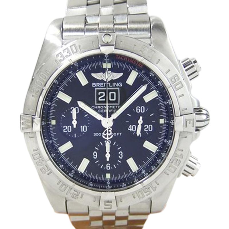 """Image of """"Breitling Blackbird A44359 Stainless Steel Automatic 43mm Mens Watch"""""""